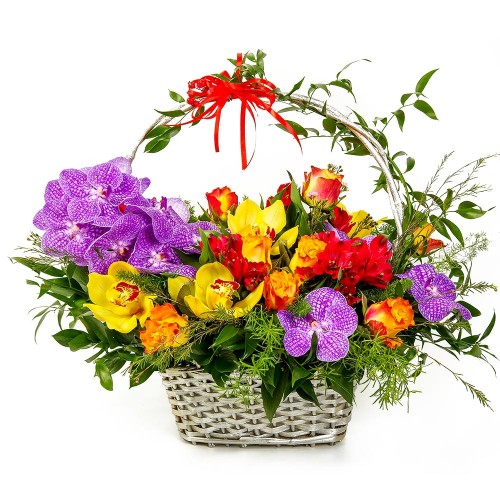 Flower basket #19